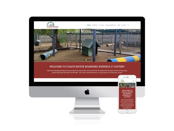 Coach House Boarding Kennels & Cattery - Website