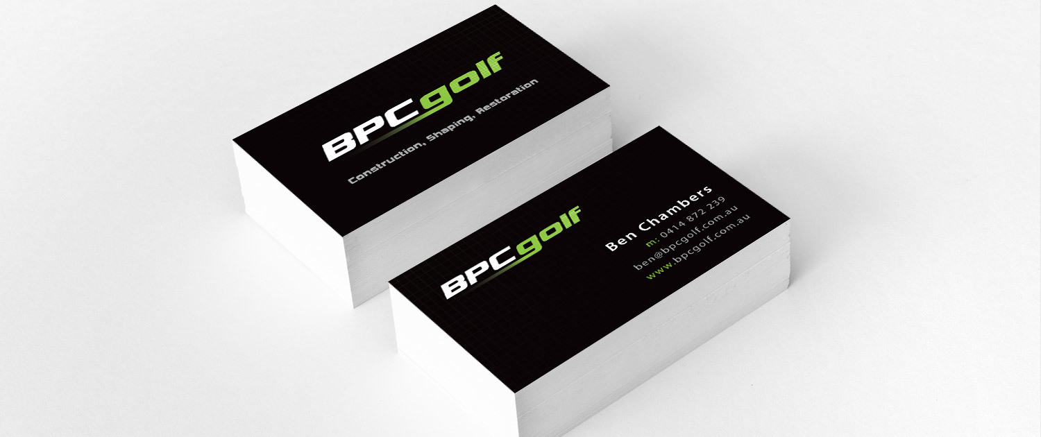 BPC Golf | Charles Lin Design | Graphic & Web Designer