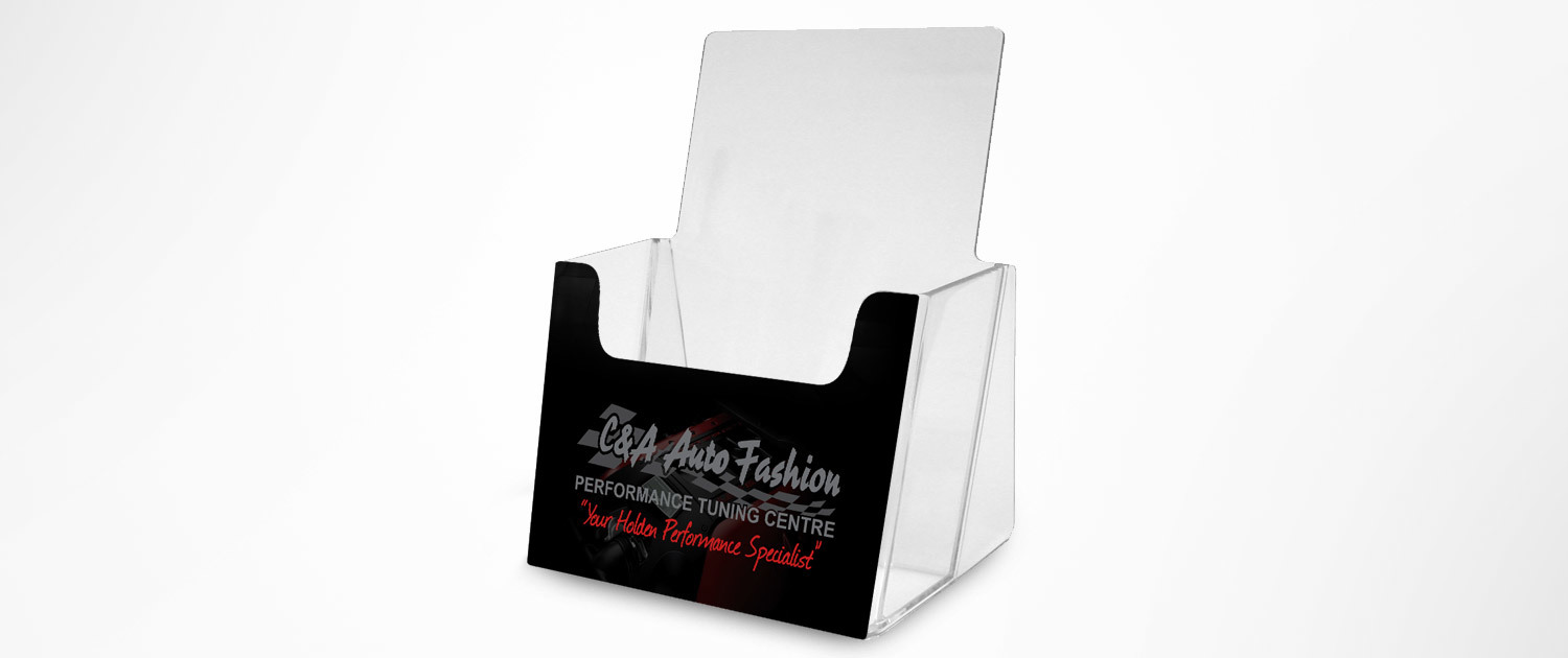 C&A Auto Fashion - A5 Flyer Stand