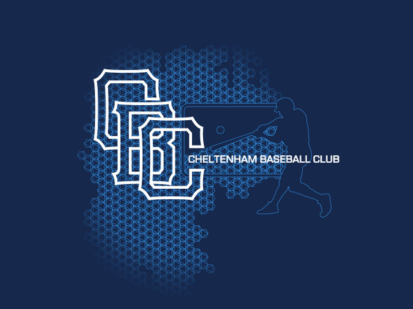Cheltenham Baseball Club Illustration