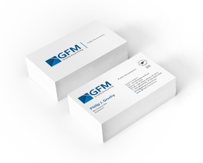 GFM Gruchy Accounting - Business Card