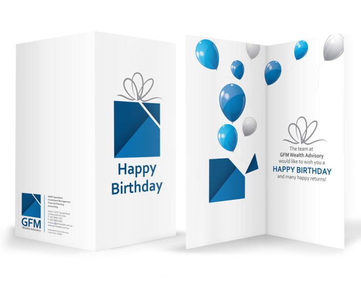 GFM Wealth Advisory - Birthday Card
