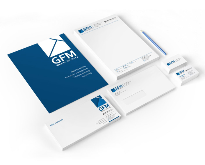 GFM Wealth Advisory - Business Stationery