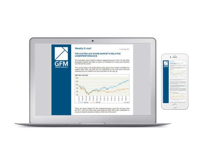 GFM Wealth Advisory - Email Newsletter