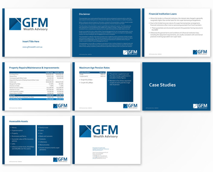 GFM Wealth Advisory - PowerPoint Presentation