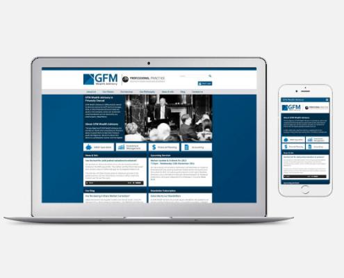 GFM Wealth Advisory Website