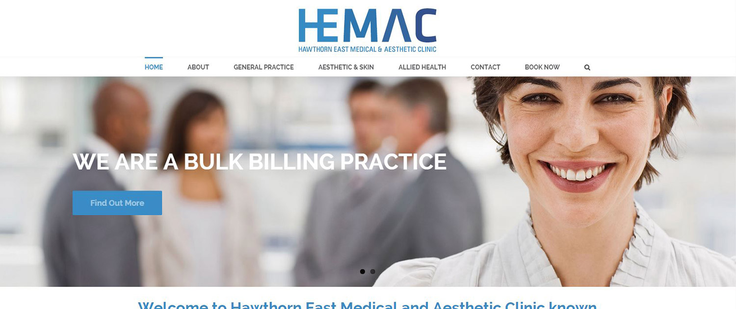 Hawthorn East Medical Aesthetic Clinic - Website