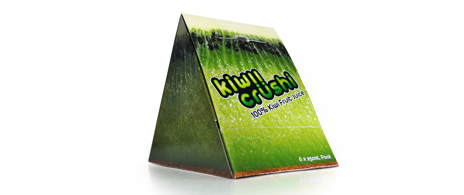 Kiwii Crushi - Packaging Front