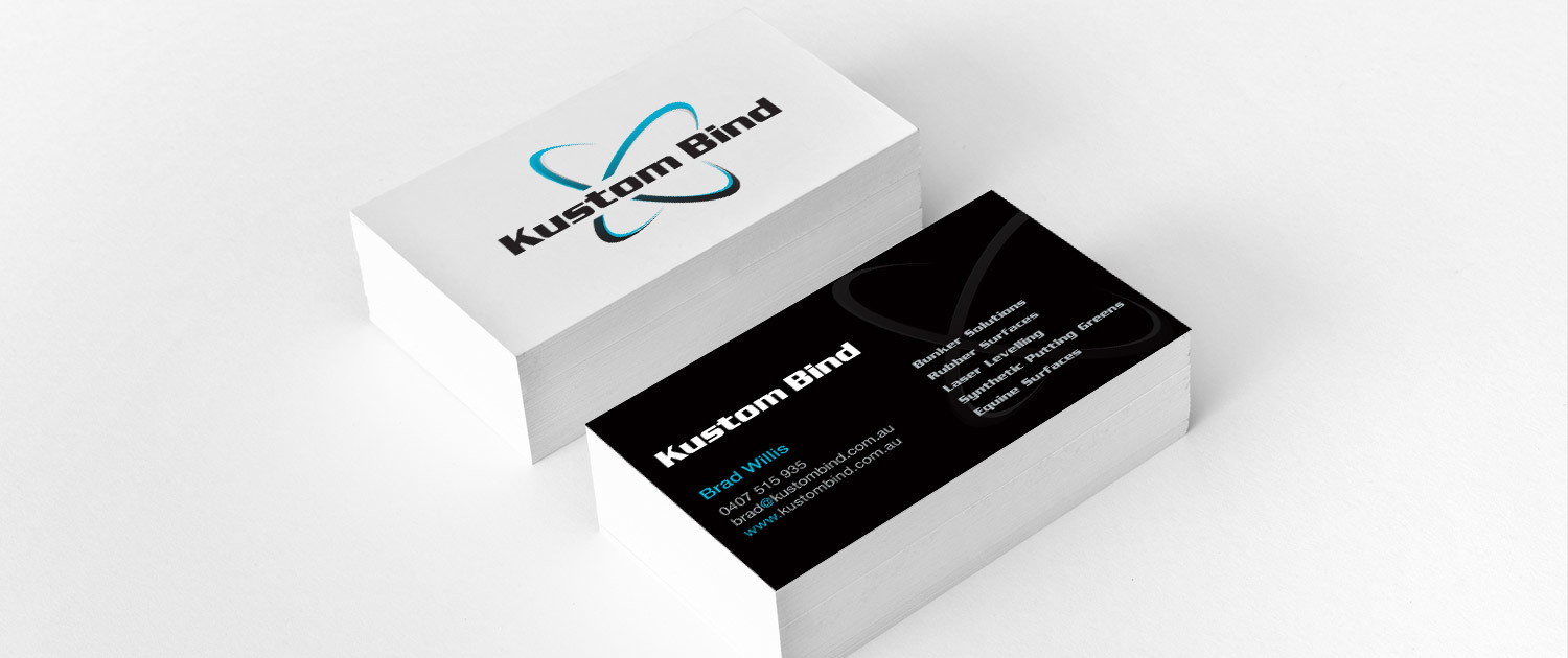 Kustom Bind - Business Card