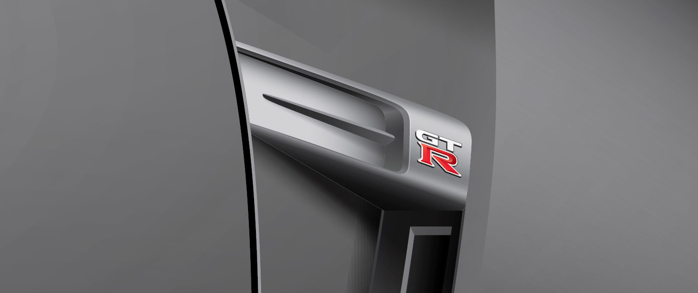 Nissan GT-R - Illustration Close Up