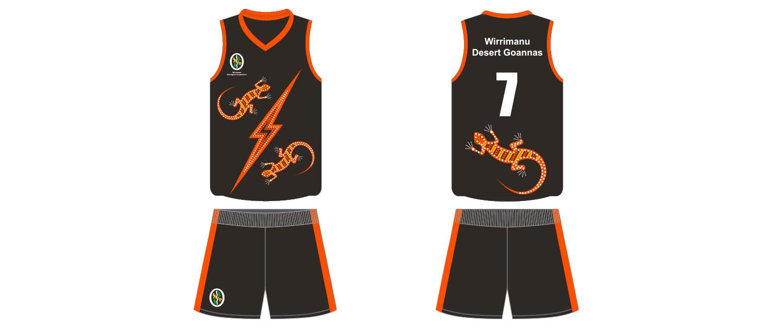 Wirrimanu Aboriginal Corporation - Desert Goannas Football Jumper