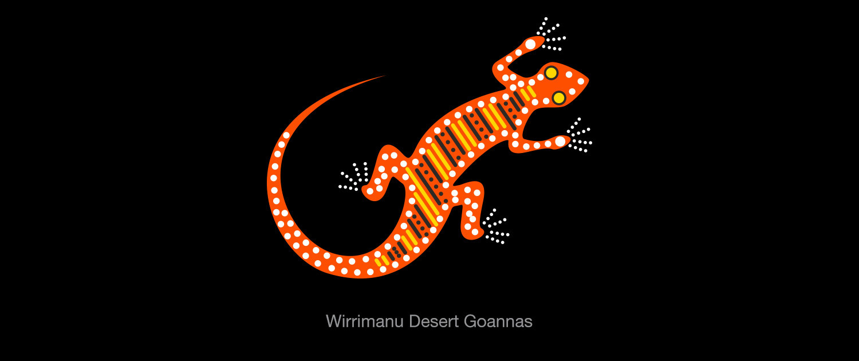 Wirrimanu Aboriginal Corporation - Desert Goannas