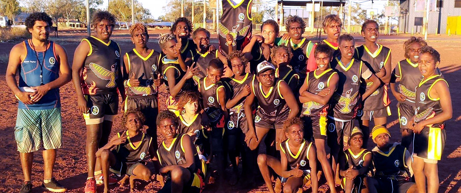Wirrimanu Aboriginal Corporation - Luurnpa Young Stars Football Team