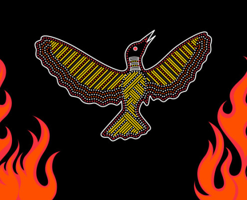 Wirrimanu Aboriginal Corporation Illustration